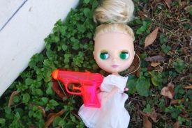 blythe and the water gun by brooke gibbons