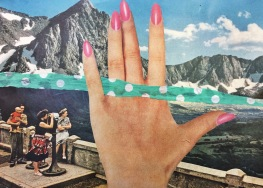 brooke gibbons analog collage surreal vintage hand