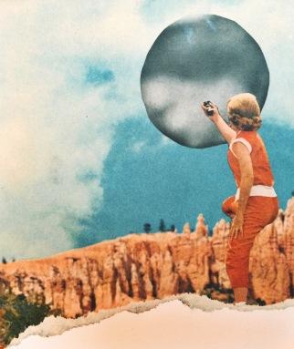brooke gibbons analog collage surreal vintage reach