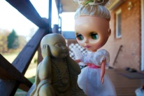 buddha and the blythe doll by brooke gibbons