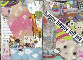 collage scan happy joy art journal brooke gibbons