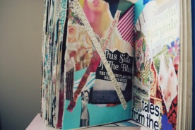 collage standing up art journal brooke gibbons