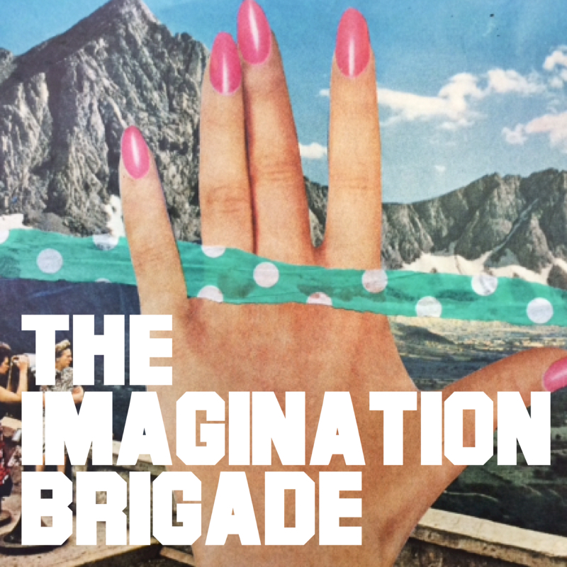 imagination brigade analog collage workshop brooke gibbons charlotte art league