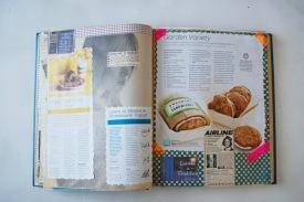 recipe book journal scrapbook vintage ephemera collage art brooke gibbons 2