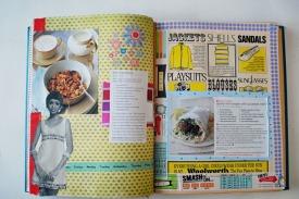 recipe book journal scrapbook vintage ephemera collage art brooke gibbons