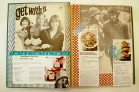 vintage collage recipe book 1 art journal brooke gibbons 2