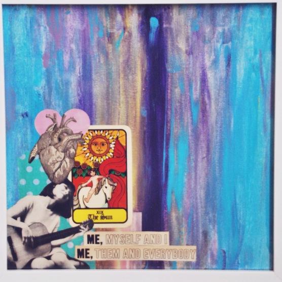 mixed media art by brooke gibbons