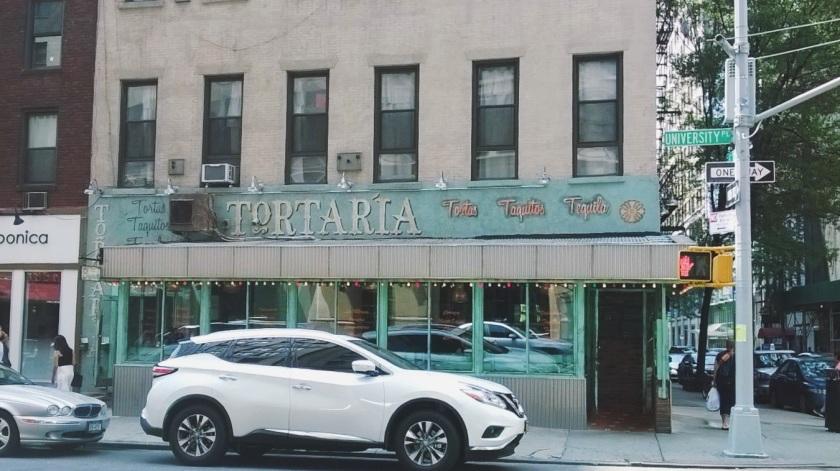 village new york storefront restuarant