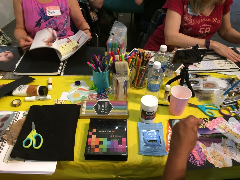 art journaling workshop charlotte